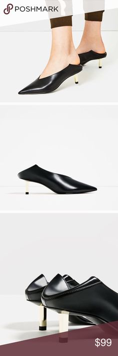 Zara Special Edition Mules Size 9 New in Box! Zara Mules ,new in box! Size 9 EUR 40 Zara Shoes Mules & Clogs