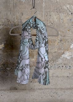 Chivalry Turquoise Rose   #shopvida #womans #fashion #designer #tops #designer #scarves