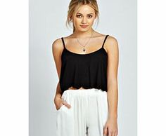 boohoo Emma Scallop Edge Crop Cami Top - black azz33347 Injecting individuality into the basic crop top , this scallop hem design will help you stand out from the crowd. Well be wearing it with anything and everything from high waisted denim shorts by day  http://www.comparestoreprices.co.uk/womens-clothes/boohoo-emma-scallop-edge-crop-cami-top--black-azz33347.asp