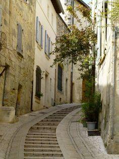 Uzès, Languedoc Rousillon, France.