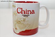 CHINA ICONS   Starbucks City Mugs