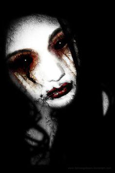 Angel of Loss by fallnangeltears - Dark / Gothic Art Creepy Pictures, Dark Pictures, Dark Gothic Art, Dark Art, Gothic Artwork, Dark Beauty, Gothic Beauty, Under Armour, Apocalypse Art