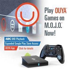 Ouya arrive sur la micro-console M.O.J.O Android de Mad Catz - Ouya et Mad Catz Interactive annoncent aujourd'hui que la vitrine Ouya et des centaines de jeux sont désormais disponibles sur la Micro-Console M.O.J.O. pour Android de Mad Catz. Les possesseurs ...