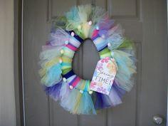 EASTER WREATH Door Wreath Wreath Spring Summer new handmade #Unbranded