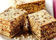 Date and ginger slice Romanian Desserts, Romanian Food, Romanian Recipes, Baby Food Recipes, Cake Recipes, Cooking Recipes, Ginger Slice, Eat Pray Love, Christmas Sweets