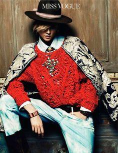 Перуанская весна от Vogue Paris / Обзор журналов / Модный сайт о стильной переделке одежды и интерьера