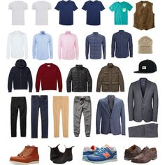 my #capsule #wardrobe men