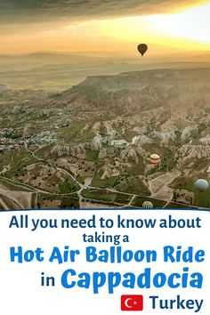 Find out all you need to know about planning a hot air balloon ride in Cappadocia Turkey | Cappadocia Hot Air Balloon | Cappadocia Hot Air Balloon Ride | Cappadocia Turkey Hot Air Balloon | Cappadocia Hot Air Balloon Sunrises | Cappadocia Turkey Hot Air Balloon | Cappadocia Turkey Hot Air Balloon Couple | Cappadocia Turkey Travel | Cappadocia Travel | Cappadocia Travel Tips | Cappadocia Travel Guide | Turkey Travel Cappadocia| Turkey Travel Cappadocia Air Balloon Ways To Travel, Places To Travel, Travel Destinations, Places To Visit, Travel Deals, Us Travel, Travel Guide, Balloon Rides, Air Balloon