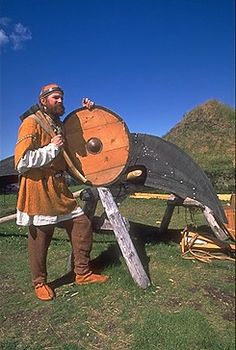 INTRODUCTION to the Norse Encampment -Daily Life in the Viking Age circa 1000 AD at Vinland. The Viking Encampment living history program at Parks Canada L'Anse aux Meadows NHSC in Newfoudland