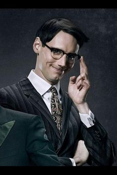 Riddle me this: Who is the sexiest Bat Villain ever? Cory Michael Smith as Edward Nygma on Fox's Gotham. I'd love to see this guy in some spandex!