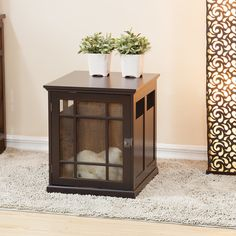 I would like to find an end table to do this with! A matching pair would be even better.