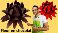 Chocolate Flowers, Homemade Chocolate, No Bake Desserts, Cookies, Gastronomia, Recipes, Pies, Deserts, Flowers