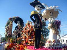 Celebrating Dia De Los Muertos in Santa Fe New Mexico