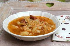 Caldo verde - Soupe pommes de terre et choux