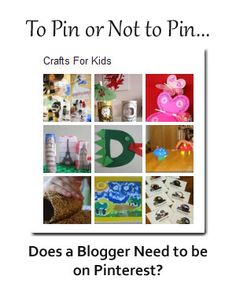 Does a blogger need to be on Pinterest? Janice Croze interviews 4 prominent bloggers. What do you think?