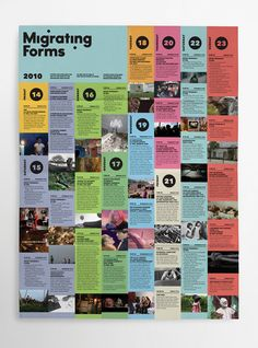Migrating Forms by Jeff Jarvis, via Behance Layout Design, Print Design, Web Design, Communication Icon, Grid Layouts, Typography Layout, Brand Identity Design, Graphic Design Illustration, Magazine Layouts