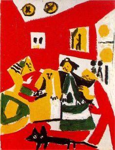 Las+Meninas+(Velazquez)+-+Pablo+Picasso
