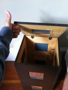 Malma Mirror Nightstand Storage Thingy - IKEA Hackers - IKEA Hackers