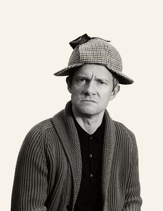 Aww. I'm sorry Martin sherlock's hat doesn't fit you?
