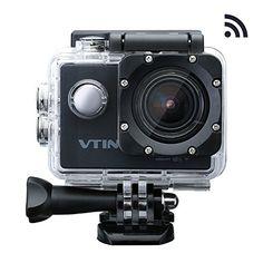 Vtin Eypro 1 Cámara Deportiva,1080p 12MP WIFI Impermeable…