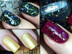 OPI Gwen Stefani Holiday 2014 - Rollin' in Cashmere Trio