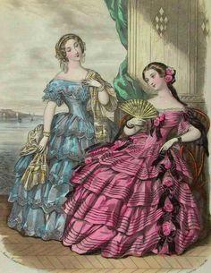 ArtbyJean - Vintage Clip Art: Vintage Ladies Fashion Prints