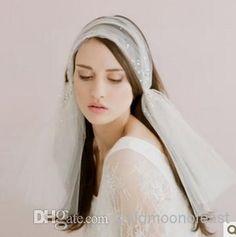 fascia dei capelli di nuovo stile ivory net / tulle sposa con il cristalloall'ingrosso