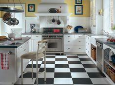 Gorgeous Kitchen Floors | Kitchen Designs - Choose Kitchen Layouts & Remodeling Materials | HGTV