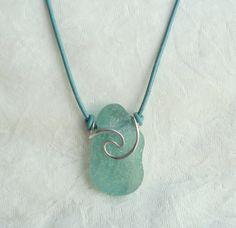 Sea Glass Rip Curl Necklace