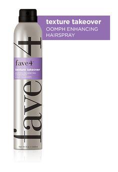 Fav4 Texture Takeover Oopmh Enhancing Hairspray