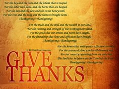 Beautiful Happy Thanksgiving Poems 2019 For Kids, Thanksgiving Blessings, Poetry, Funny Thanksgiving Poems prayers Preschoolers & Toddlers For Church. Thanksgiving Messages, Thanksgiving 2013, Thanksgiving Blessings, Thanksgiving Pictures, The Rose Song, 2015 Quotes, Daily Affirmations, Give Thanks, Happy Quotes