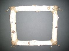 When Grizzly Adams wanted a super-rustic frame from us, he got it. Here's the how-to on making your own rustic Birch branch picture frame.