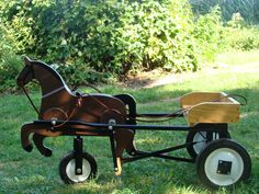 fun pony cart for the kids