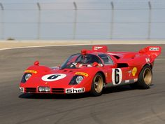 Ferrari 512 - Le Mans Unlimited Endurance Class Racing Car