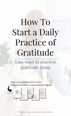 Feel and express gratitude as a regular practice and you will see your life is extraordinary. Gratitude is a wonderful way to start the day and create an overall feeling of contentment and happiness. Click through to download the FREE 6-page gratitude workbook. Pin it now and share it with your friends. #gratitude #mindfulness #bestlife #wellness #selfcare #selflove