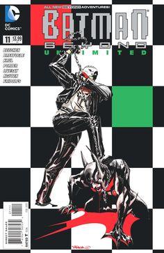 Batman Beyond Unlimited #11. Cover by Dustin Nguyen;