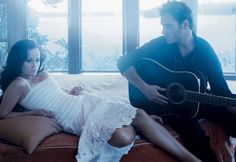Reese Witherspoon and Joaquin Phoenix Vogue Photoshoot - Walk The Line