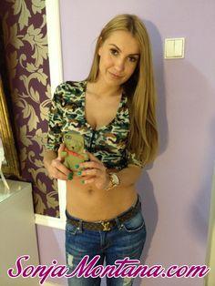 #SonjaMontana #selfie #blonde #babe