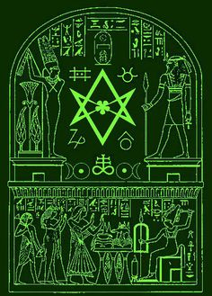 Undying Flame Array Explained by Notshurly on DeviantArt - unicursal hexagram Alchemy ancient Egypt Crowley by Mikewildt - Occult Symbols, Occult Art, Egyptian Symbols, Ancient Symbols, Ancient Aliens, Ancient Egypt, Ancient Art, Egyptian Pyramid, Mayan Symbols