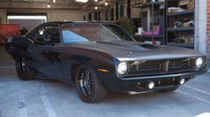 """Letty's 1972 Plymouth Barracuda / cars of """"Furious 7"""" (April 2015)"""