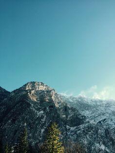 Mountain-View from Wimbach-Klamm in Berchtesgaden
