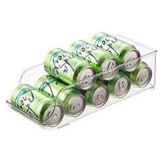 InterDesign Fridge Binz Soda Can Organizer Fridge Shelves, Freezer Storage, Refrigerator Organization, Refrigerator Freezer, Kitchen Refrigerator, Pantry Storage, Kitchen Storage, Food Storage, Casa Jenner