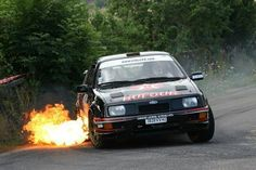 Ford Sierra is flame! Ford Rs, Car Ford, V8 Cars, Race Cars, Ford Sierra, Ford Classic Cars, Old Fords, Ford Escort, Rally Car