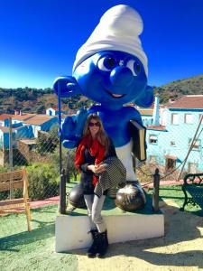 "Juzcar is known as the ""Smurf Town"" of Spain"