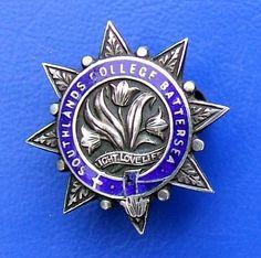 Southlands College Battersea - silver badge (1924) by RETRO STU, via Flickr
