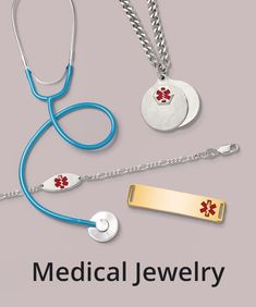 Medical IDs are one of the most essential pieces of jewelry a person can wear. Buy for yourself or someone you care about. #QualityGold #IdBracelets #PersonalJewelry #MedicalBracelet #bracelets #MedicalJewelry