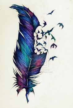 This Would Definitely Be The Only Colored Tattoo I Want