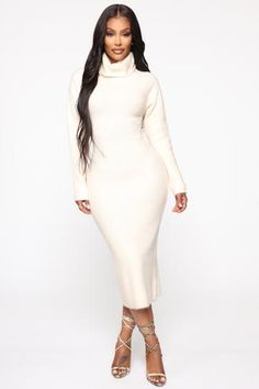 Casual Outfits, Fashion Outfits, Fashion Styles, Summer Outfits, Curves Clothing, Wardrobe Clothing, Women's Clothing, Long Sleeve Midi Dress, Dress Long