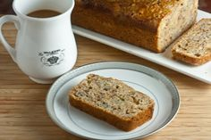 A light and fluffy, super moist bread that's perfect to either grab for a quick breakfast or to enjoy mid-afternoon with a mug of tea.