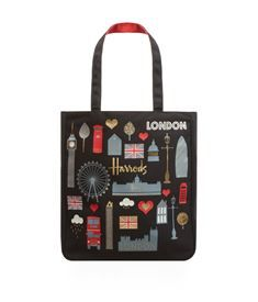 View the London Glitter Tote Bag